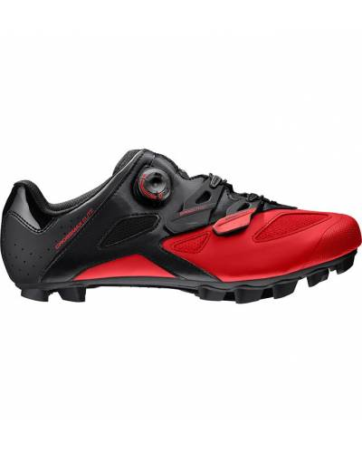 ZAPATILLAS MAVIC CROSSMAX ELITE BLACK/FIERY RED