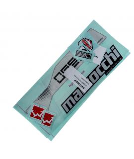 Kit Adhesivos MARZOCCHI 350 R Negro 2015